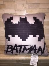 BATMAN BAT SIGNAL LEGO PILLOW