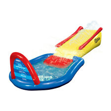 Wham-O 20 Foot Backyard and Lawn Mega Tidal Wave Slip N Slide Outdoor Water Toy