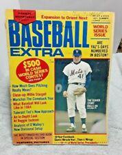 Baseball Extra Magazine Summer 1971 Tom Seaver Mets Stargell Marichal more