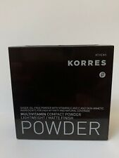 KORRES Multivitamin compact powder Matte finish MVP4 10g 0.35 oz oil free no box