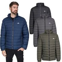 Trespass Darrell Mens Padded Jacket in Black Navy Olive & Grey