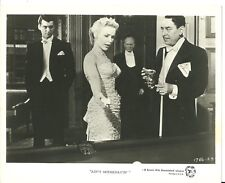 "Original Press Photo ""Ain't Misbehavin'"" Piper Laurie Rory Calhoun 1955"
