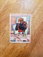 Upgraded Spartan Wildstorms Unlimited CCG WildCATS Chase Card (1996)