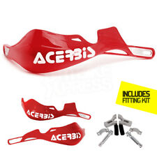 New Acerbis Rally Pro Handguards Enduro Red CR CRF 125 250 450 R X Aluminum Bar