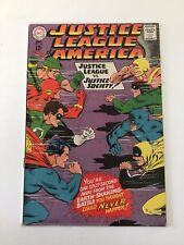 Justice League of America #56  (DC Comics; Sept, 1967) - G.A. Wonder Woman - VF