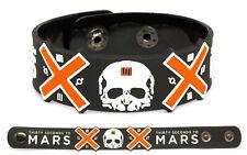 30 Seconds to Mars wristband rubber bracelet v1