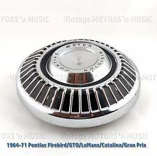 """1964-1971 Pontiac 10"""" Dog Dish Hubcap Firebird GTO LeMans Catalina Gran Prix"""