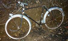 ancien vélo bicyclette peugeot  vélocipède sortie de grange 1930/40 old bike