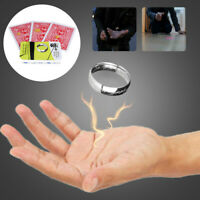 Magic Ring Floating Hanging Poker Close-up Street Props Set Invisible Gift Trick
