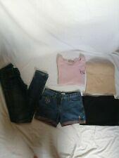 LOT de 5 vêtements 34 femme fille ado tee shirt morphologiqu corps mis en valeur