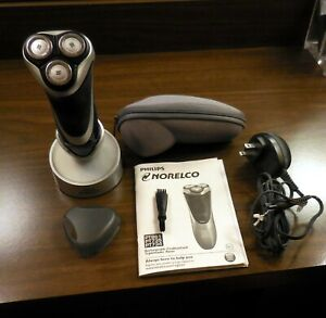 GENUINE Complete PHILIPS NORELCO MENS RECHARGEABLE ELECTRIC SHAVER  PT734 Manual