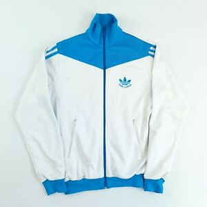 Vintage Adidas Originals Ivan Lendl Track Top Jacket White S Full Zip