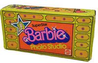 Vintage rare 1977 Mattel Barbie SuperStar Photo Studio Fold Out Case #2069