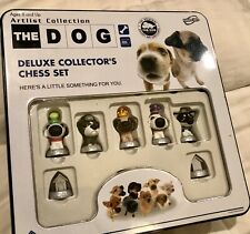 The Dog Deluxe Artlist Collector's Chess Tin Set #752 Sababa Toys