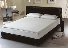 4cm EMBOSSED MEMORY FOAM MATTRESS TOPPER double size