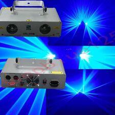 2 Lens 750mW+750mW Blue  DMX Laser Light Disco DJ  Stage Party Lighting