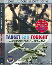 WWII TARGET FOR TONIGHT + 8th Air Force Documentary FILMS DVD !!