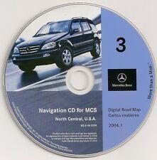 2000 2001 2002 Mercedes ML ML320 ML430 ML500 ML55 Navigation CD #3 North Central
