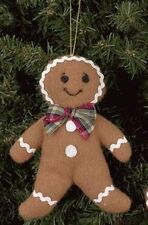 """1269 - Bearington Gingerbread Pack-Ginger Boy Orn """"Cookie"""" 5"""" Christmas 2011-NEW"""