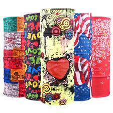 Unisex Multi Colors Scarf Tube Bandana Head Face Mask Neck Gaiter Snood Headwear
