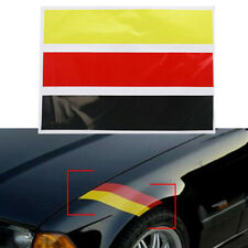 "10"" * 6'' German Flag Color Strip Decal Sticker DIY Car Exterior Interior Decor"