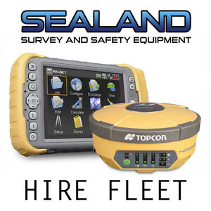 Topcon Network Rover Hire GPS GNSS RTK Hire - Weekly Rate