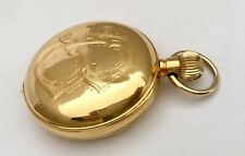 Antique 18K Gold Quarter Repeater Full Hunter Pocket Watch