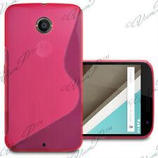 Accessoires Etui Coque Housse TPU Silicone gel ROSE Motorola Nexus 6/ Nexus X
