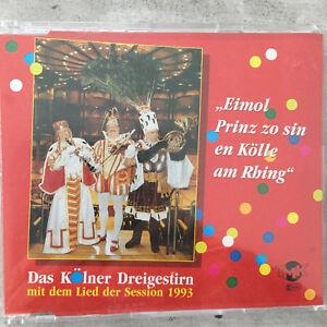 KÖLNER DREIGESTIRN 1993: Eimol Prinz zo sin (Maxi-CD TMK 041117 / neu)