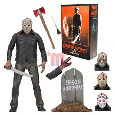"Ultimate Jason Voorhees Friday The 13th Part 5 Movie 7"" Action Figure NECA 2018"