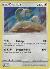 Pokemon SM Ultra Prism Card: Drampa - 117/156 - Rare Holo