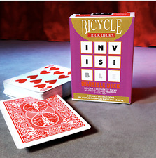 Invisible Deck Bicycle Mandolin (Red) from Murphy's Magic