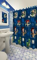 13pc Disney Toy Story Clubhouse Shower Curtain and Hooks Set