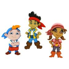 Dress It Up - Disney - JAKE AND THE NEVERLAND PIRATES Buttons - 1 pack