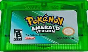 Pokemon Emerald Version (045496735302) Nintendo Game Boy Advance, 2005 GBA