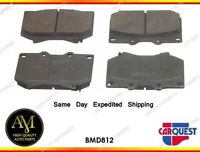 Front Disc Brake Pads Ceramic BMD812 for Toyota Sequoia 01-03 Tundra 00-02