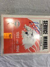 Harley Davidson Facory Manual  Softail /fx 93/94