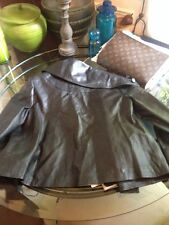 Sublime veste cuir noir 123 taille 40 comme neuve Leather Veritable Luxe rare