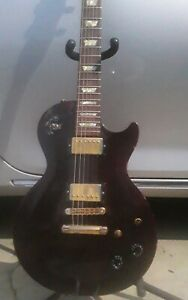 Gibson Les Paul Studio 1995 Electric Guitar - Wine Red neck repaired