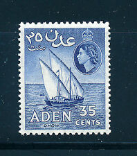 ADEN 1953 DEFINITIVES SG57 35c  MNH