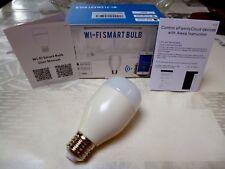WiFi ➤ Ampoule intelligente multicolore Programmable Smartphone Smart Bulb ALEXA