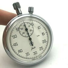 Vintage Stopwatch USSR Quality AGAT 0.2s Sport Chronograph Mechanical 4295A Rare