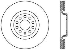 Centric Parts 125.33096 Front Premium Brake Rotor