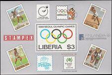 Scott # 1081 - 1988 -  ' 1988 Summer Olympic Games, Seoul ', S/S, Olympic rings