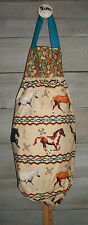 Horses Paint Palomino Bay Albino Southwest Plastic Grocery Bag Rag Sock Holder