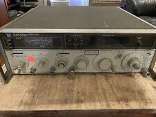 Hp 8640b Signal Generator 500khz 512mhz Works But Need Attenuator Repair