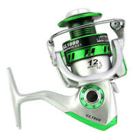 12BB Spinning Fishing Reel 5.5:1 Gear Ratio Freshwater Saltwater Right Left Hand