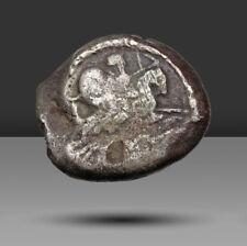 Phoenicia, Neumático' Ozmilk (Azemilkos). Alrededor 349-311/0 Bc. Ar Shekel