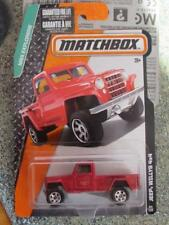 Matchbox 2015 #084/120 JEEP WILLYS 4x4 rouge MBX EXPLORATEURS Sous pression'