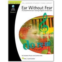 Ear Without Fear Volume 1 Hal Leonard Student Piano Library Book/Online Audio